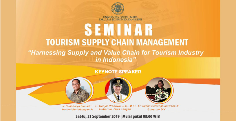 Seminar in Tourism Industry 2019
